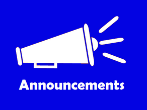 Weekly Announcements May 17-21