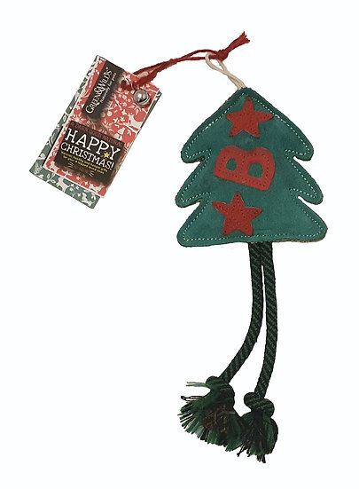 Bruce the Spruce Christmas Tree Dog Toy