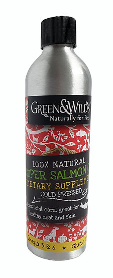 Super Salmon Oil Dietary Supplement