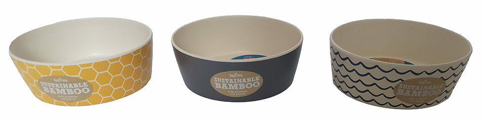 Beco Classic Bamboo Food Bowl