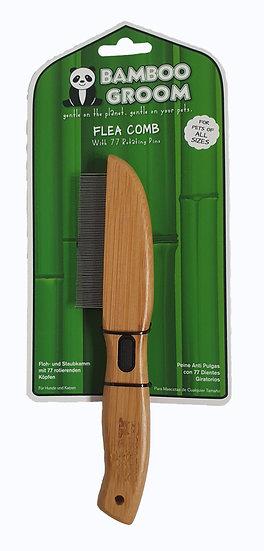 Bamboo Groom Flea Comb