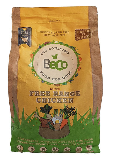 Beco Sustainable Free-Range Chicken Dry Dog Food