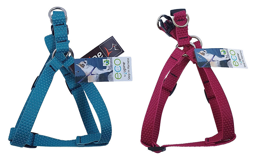 Eco-Friendly Lupine Step-in Dog Harness