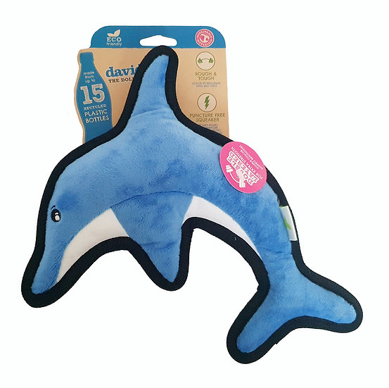 Beco Recycled Tough Dolphin Toy