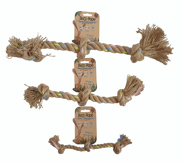 Beco Natural Hemp Rope Chew Toy