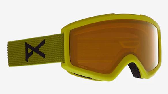 Goggles Helix 2.0 Sonar Brille + Ersatzglas, grün