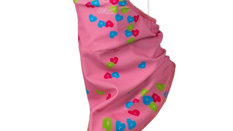 ViralOff-Filter Mask Tub Kids / Pink mit Herz