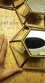 השראה, מטבעת, מעבודת אומנות תלת מימדית על הקיר