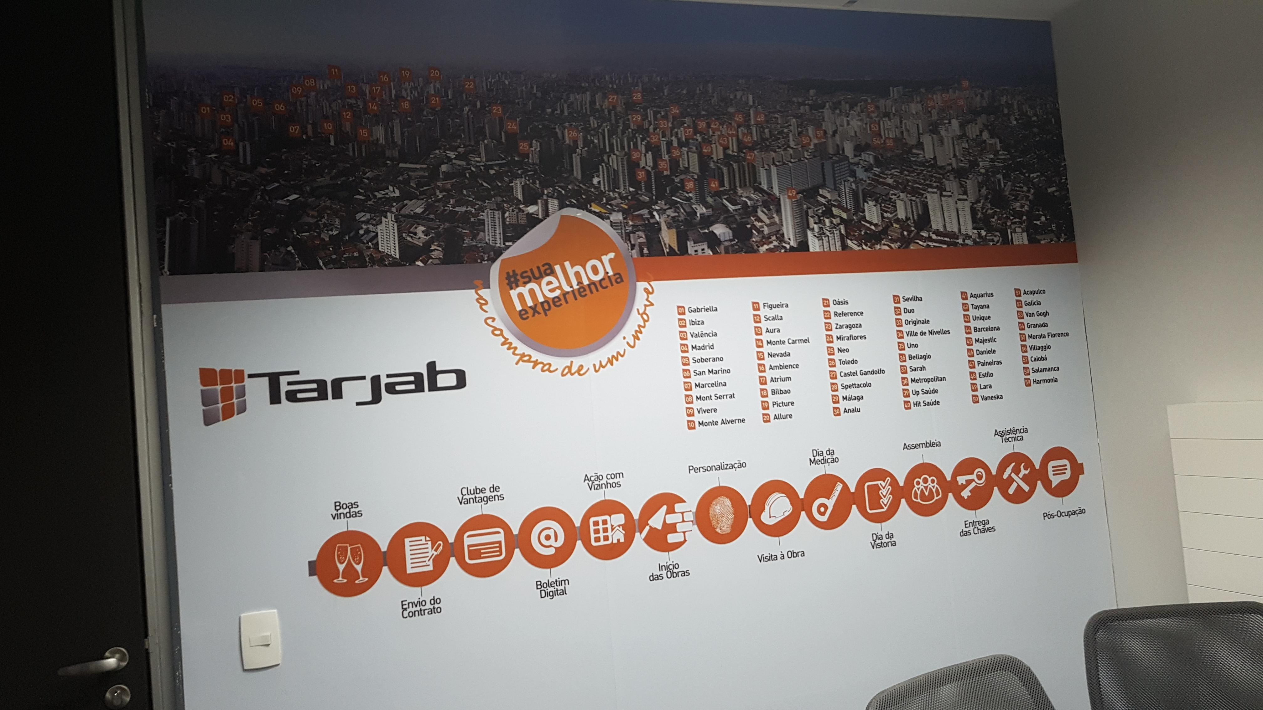 +Sinalização Corporativa - Tarjab