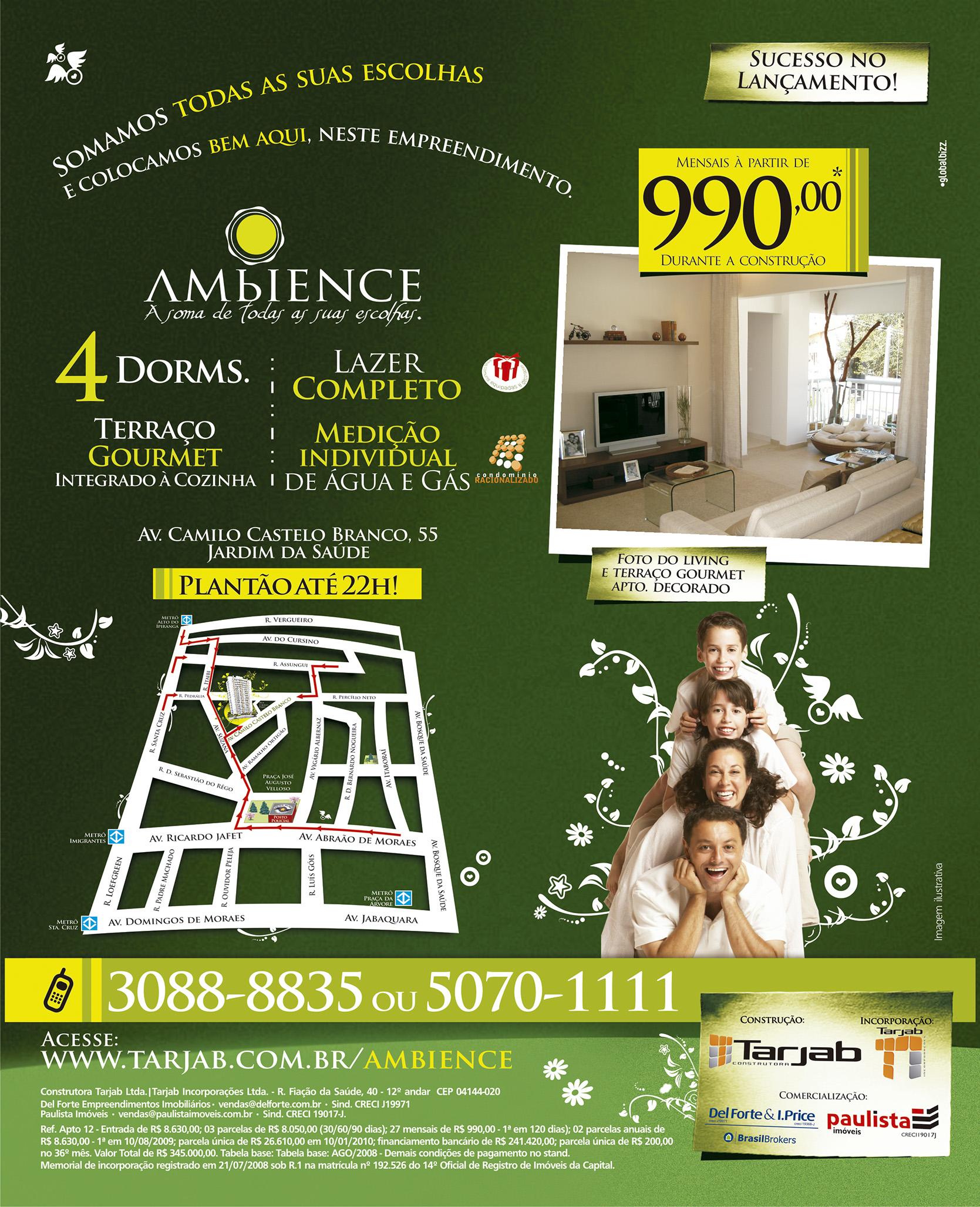 +Imobiliário - Ambience