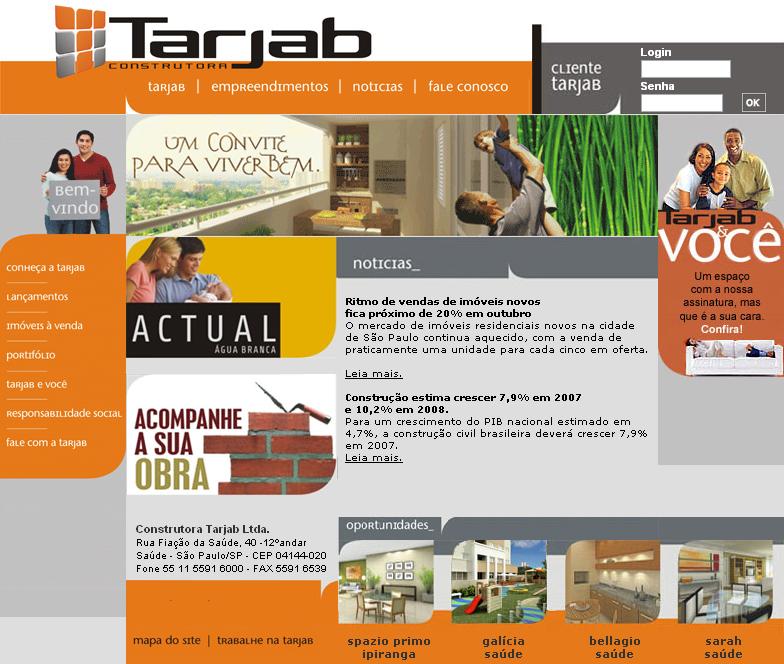 +Website - Construtora Tarjab