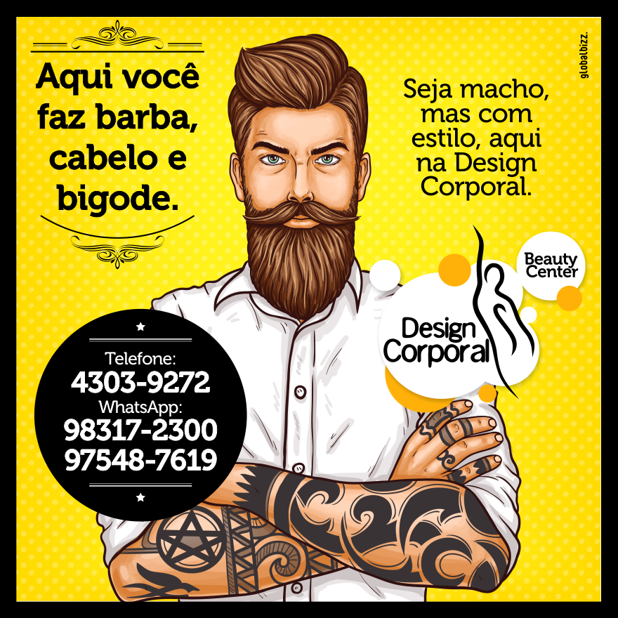 + Campanha Digital Design Corporal