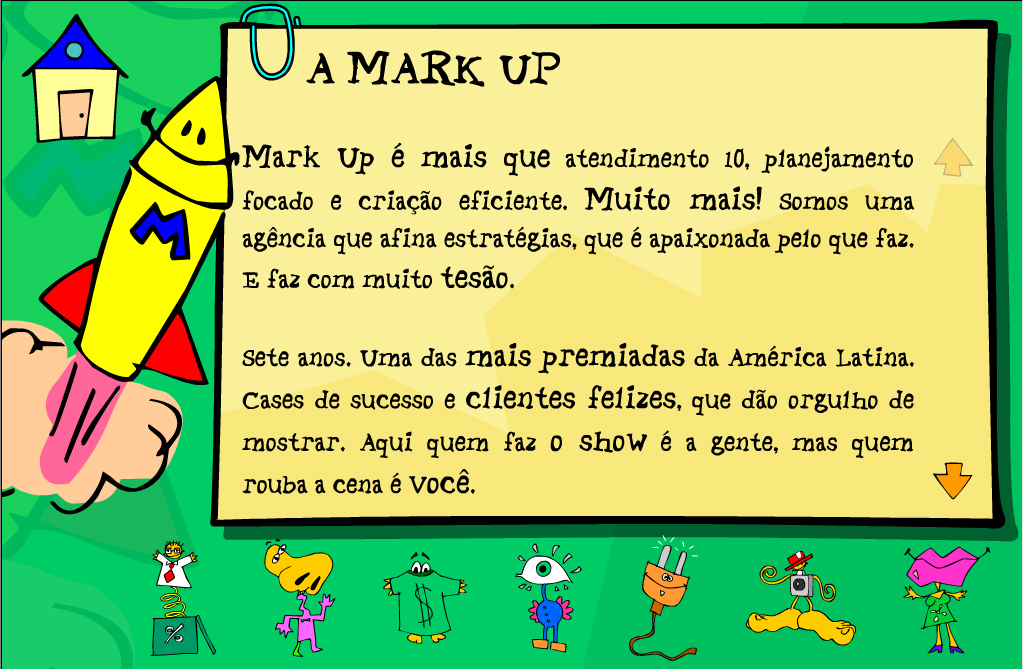 +Website - Markup