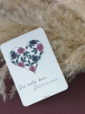 Carte Saint Valentin.