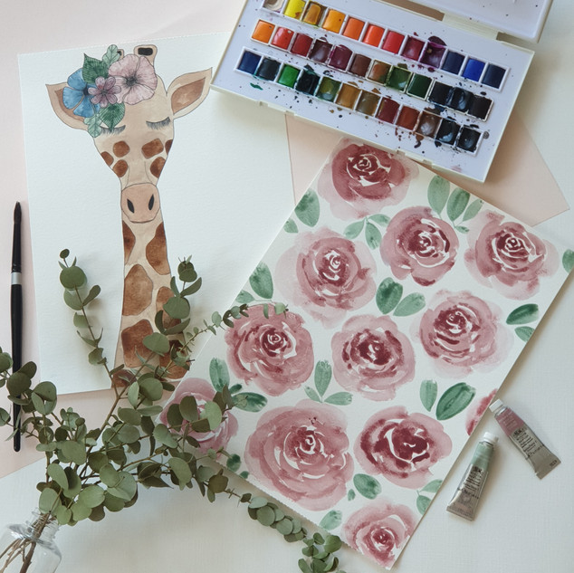 Flowering giraffe_