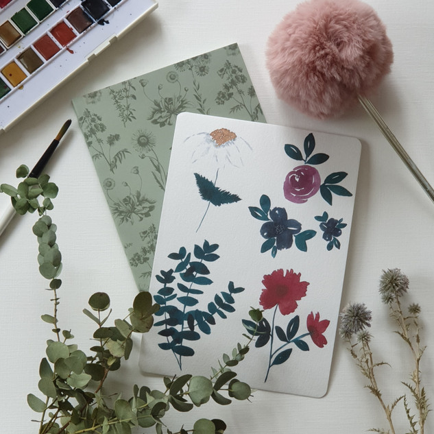 watercolor flowers_