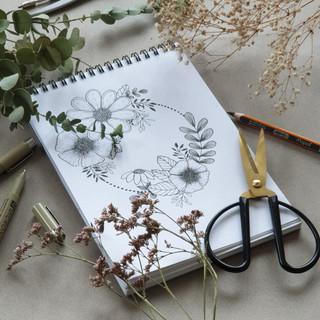 Couronne de fleurs_