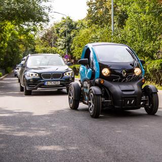 Primul mars al masinilor eco