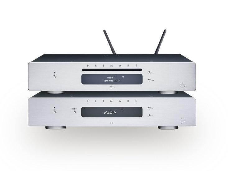 Pack Amplificateur I15 + Lecteur CD15 Prisma