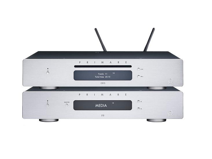 Pack Amplificateur I15 MM + Lecteur CD15 Prisma