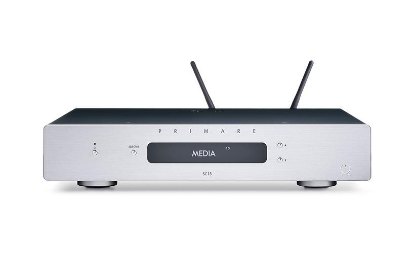 Préamplificateur & lecteur réseau SC15 Prisma