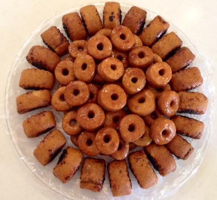 עוגיות מרוקאיות מתוקות