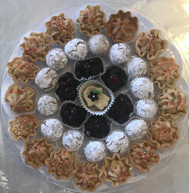 מגש עוגיות מרוקאיות