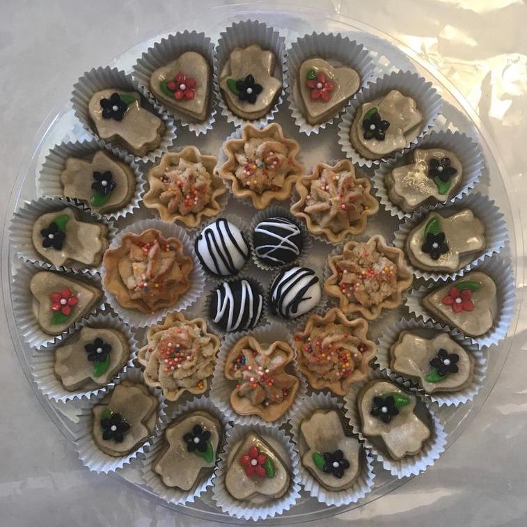 מגש עוגיות מעוצבות