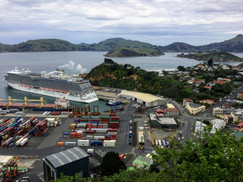 At Port Chalmers, Dunedin