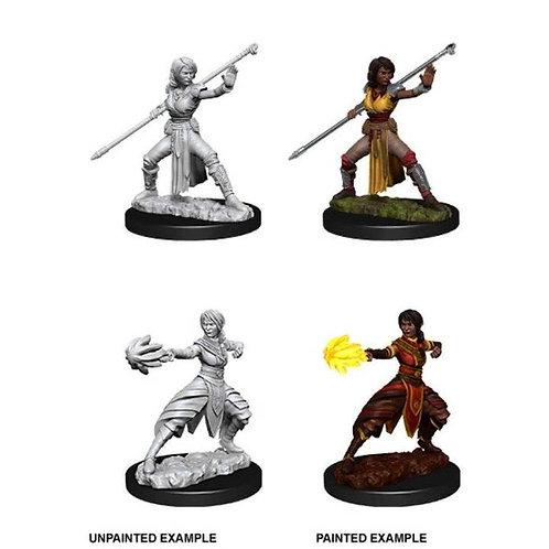 Dungeons & Dragons Nolzur's Marvelous Miniatures - Half-Elf Female Monk