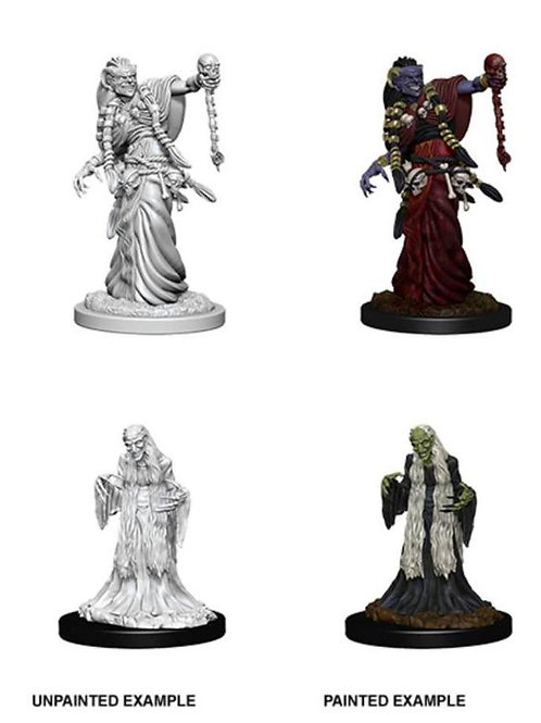 Dungeons & Dragons Nolzur's Marvelous Miniatures - Green Hag & Night Hag