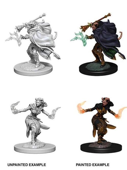 Dungeons & Dragons Nolzur's Marvelous Miniatures - Tiefling Female Warlock