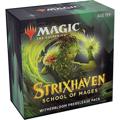 MTG Strixhaven Prerelease Kit - Witherbloom + 2 Boosters