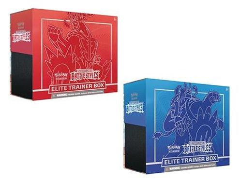 Pokemon Battle Styles Elite Trainer Box Bundle of 2
