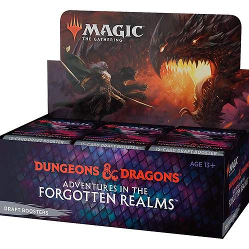 MTG Forgotten Realms Draft Booster Box (Pre-Orders!)