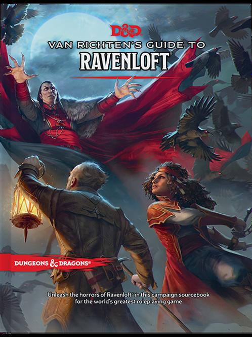 D&D 5E Van Richten's Guide to Ravenloft