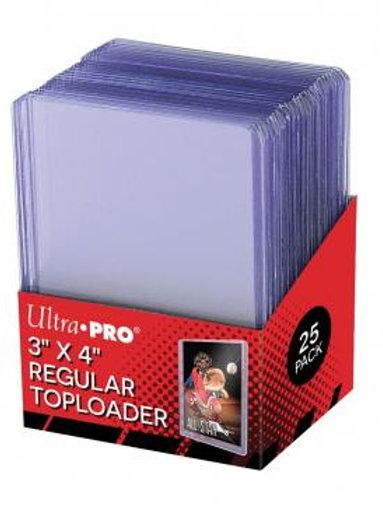 UltraPRO Top Loaders Regular 3x4 25ct