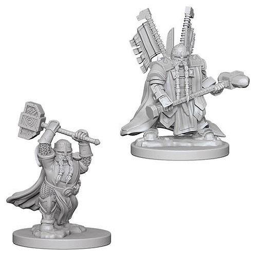 Dungeons & Dragons Nolzur's Marvelous Miniatures - Dwarf Male Paladin