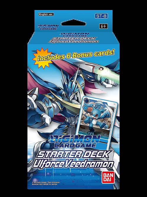 Digimon TCG Ulforce Veedramon Starter Deck (Pre-order Oct 8 2021)