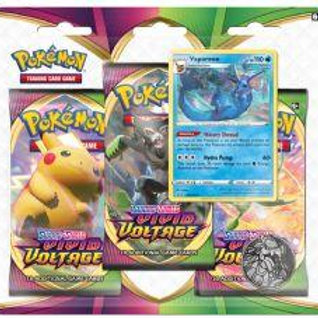 Pokemon Vivid Voltage 3pack Blister