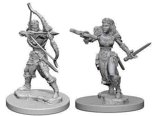 Dungeons & Dragons Nolzur's Marvelous Miniatures - Elf Female Ranger