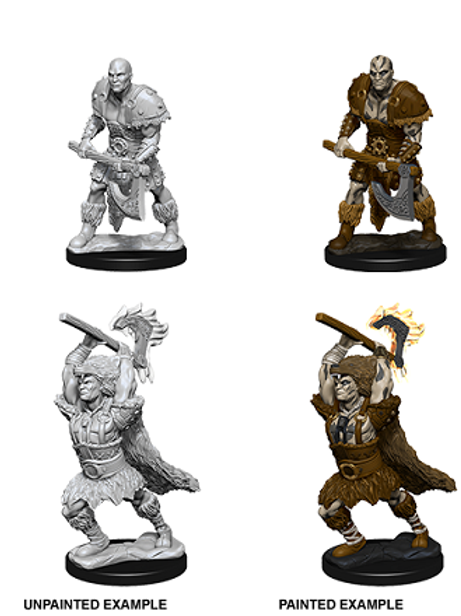 Dungeons & Dragons Nolzur's Marvelous Miniatures - Goliath Male Barbarian