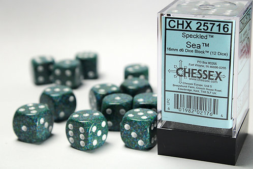 Chessex 12D6 Set Speckled Sea 25716