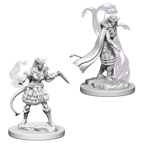 Dungeons & Dragons Nolzur's Marvelous Miniatures - Tiefling Female Sorcerer