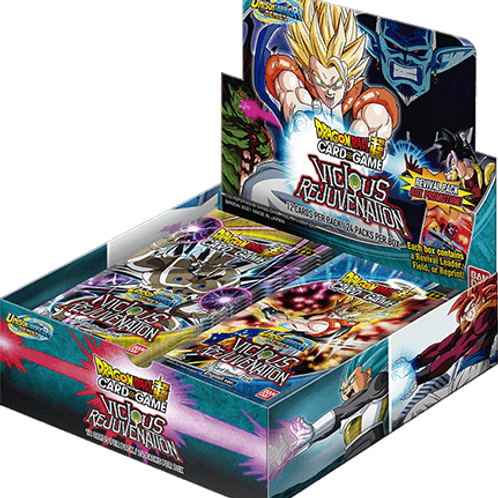 Dragon Ball Super - Unison Warrior 3 Vicious Rejuvenation Booster Box