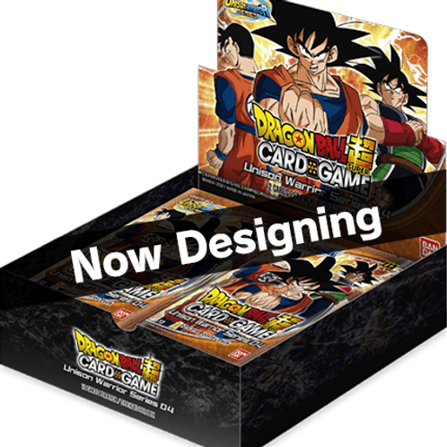 Dragon Ball Super - Unison Warrior 4 Booster Box
