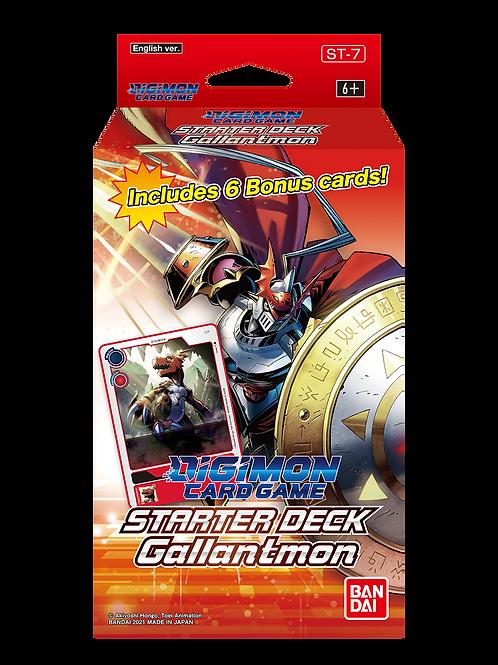 Digimon TCG Gallantmon Starter Deck (Pre-order Oct 8 2021)
