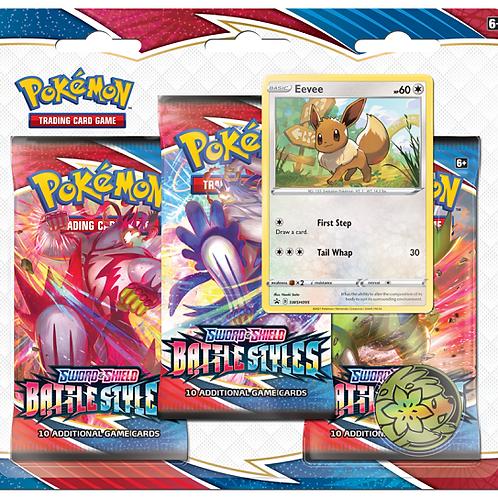 Pokemon Battle Styles 3-Pack Blister