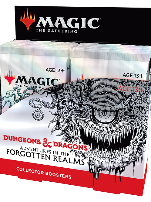 MTG Forgotten Realms Collector Booster Box (Pre-Orders!)