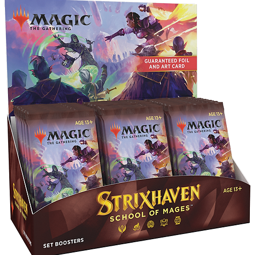 MTG Strixhaven Set Booster Box